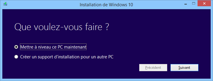 Forcer MAJ Windows 10 03