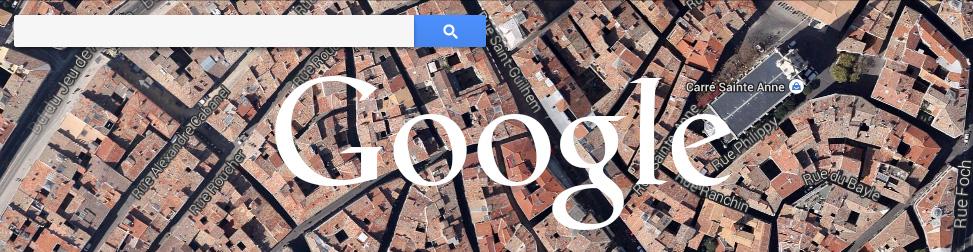Google Map Entête