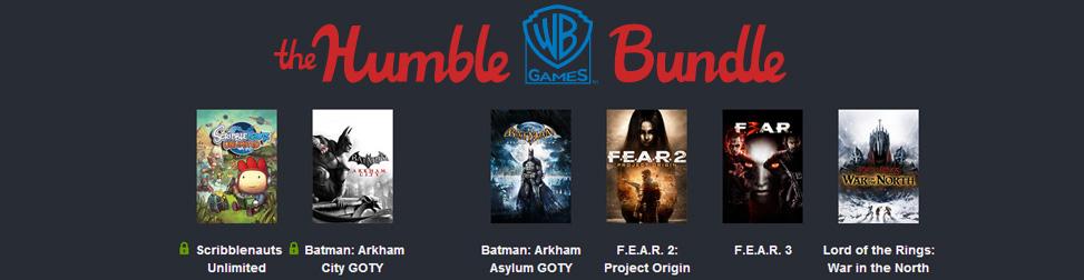 Humble Bundle WB Games