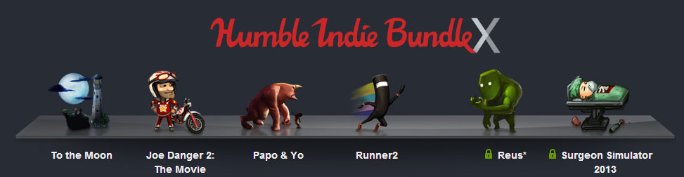 Humble Bundle X Entête