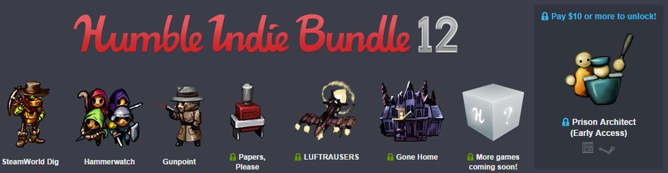 Humble Indie Bundle 12 Entete