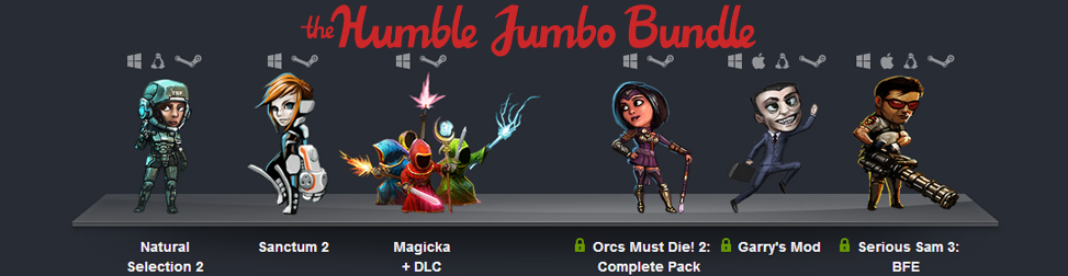 Humble Jumbo Bundle Entête
