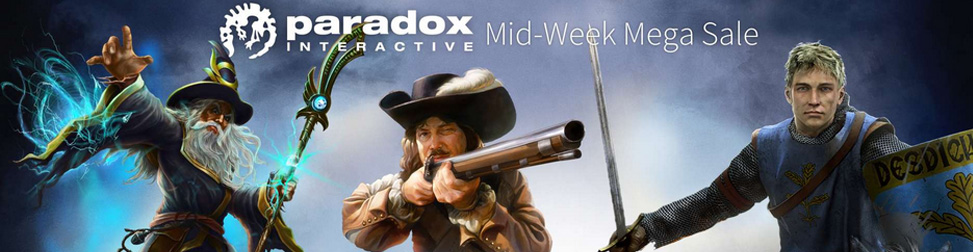 Humble Store Paradox Sale Entete