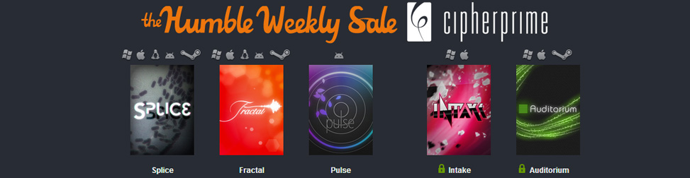 Humble Weekly Sale Cipher Prime