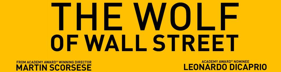 Le loup de wall street Entête