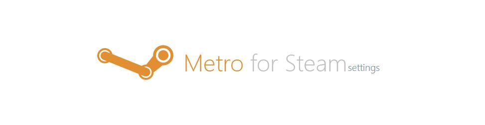 Metro for Steam Setting Entete