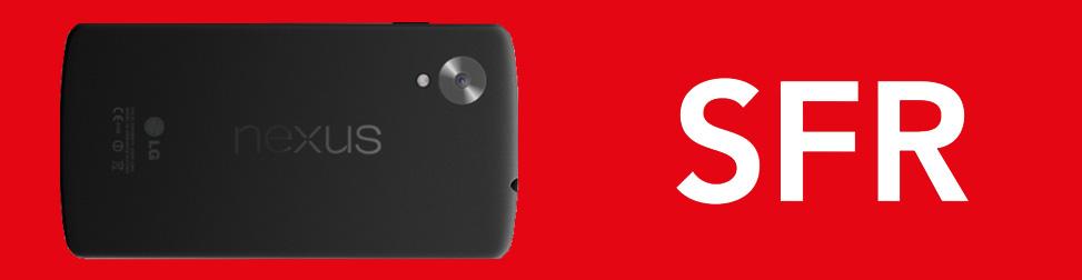 Nexus 5 Entête rouge