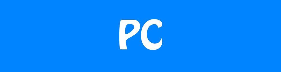 PC fond bleu Entete