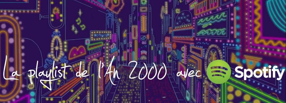 Playlist spécial année 2000 Entete