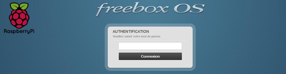 RPi Freebox Entête